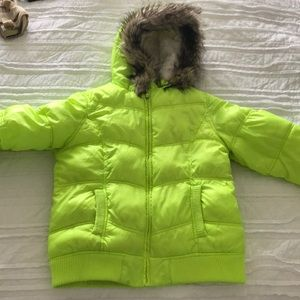 Justice winter coat girls size 14